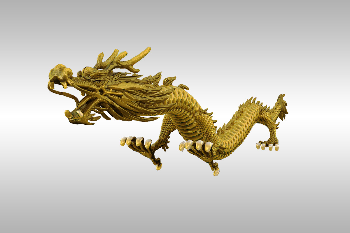 chinese dragon 3d model - photo #7