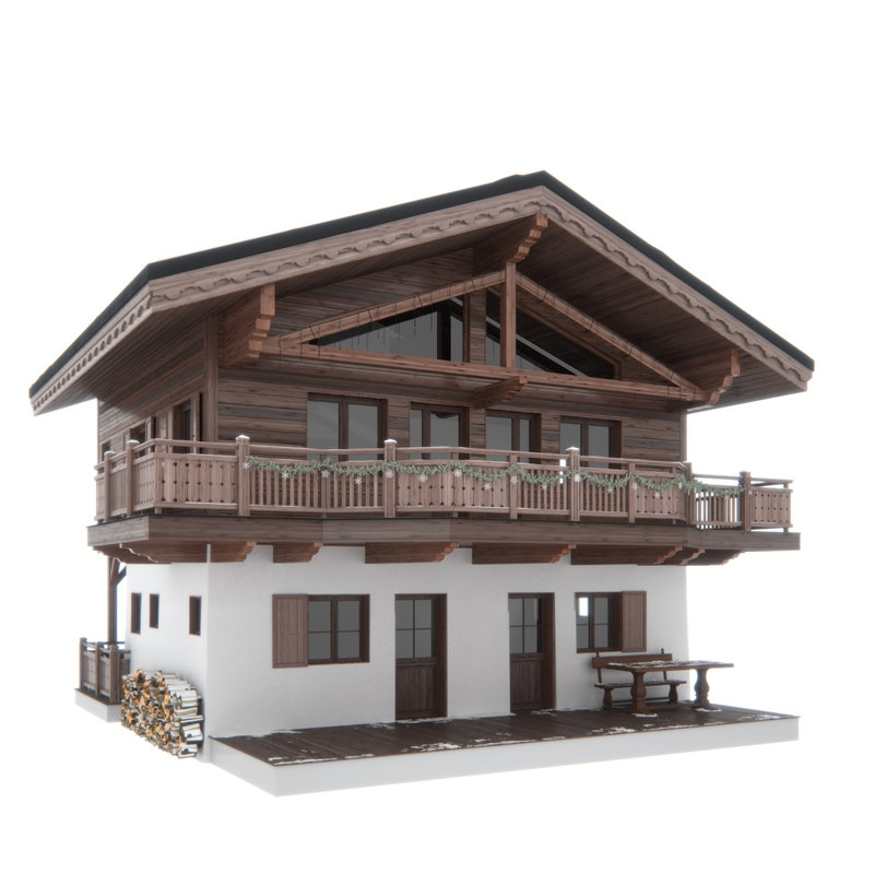 Chalet house max for Chalet d architecte