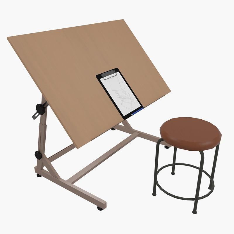 Drafting desk chair industrial - Drafting stool ikea ...