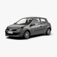 Renault Clio 3D models
