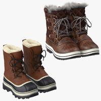 Snow Boots 3D models