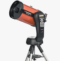 astronomy equipment 3D models