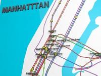 subway map 3D models