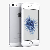 apple iphone se 3D models