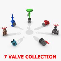 Globe Valve 3D models