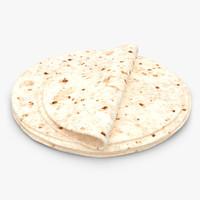 tortilla 3D models