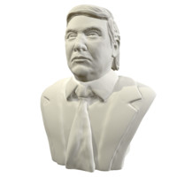 politician busts 3D models