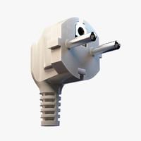 power cord 3D models