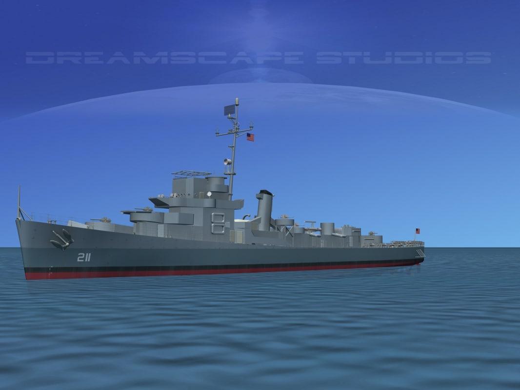 DE-211 USS Hubbard Buckley Class DE 0001.jpg