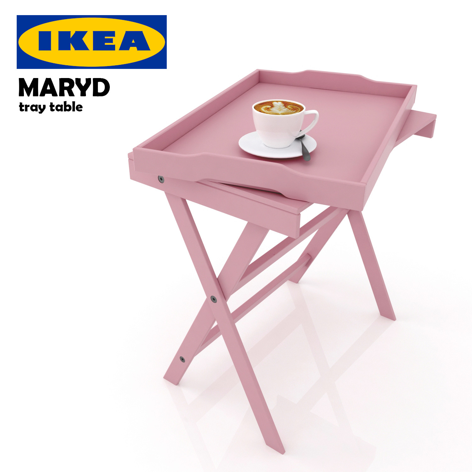 Ikea Maryd Tray 3d Model