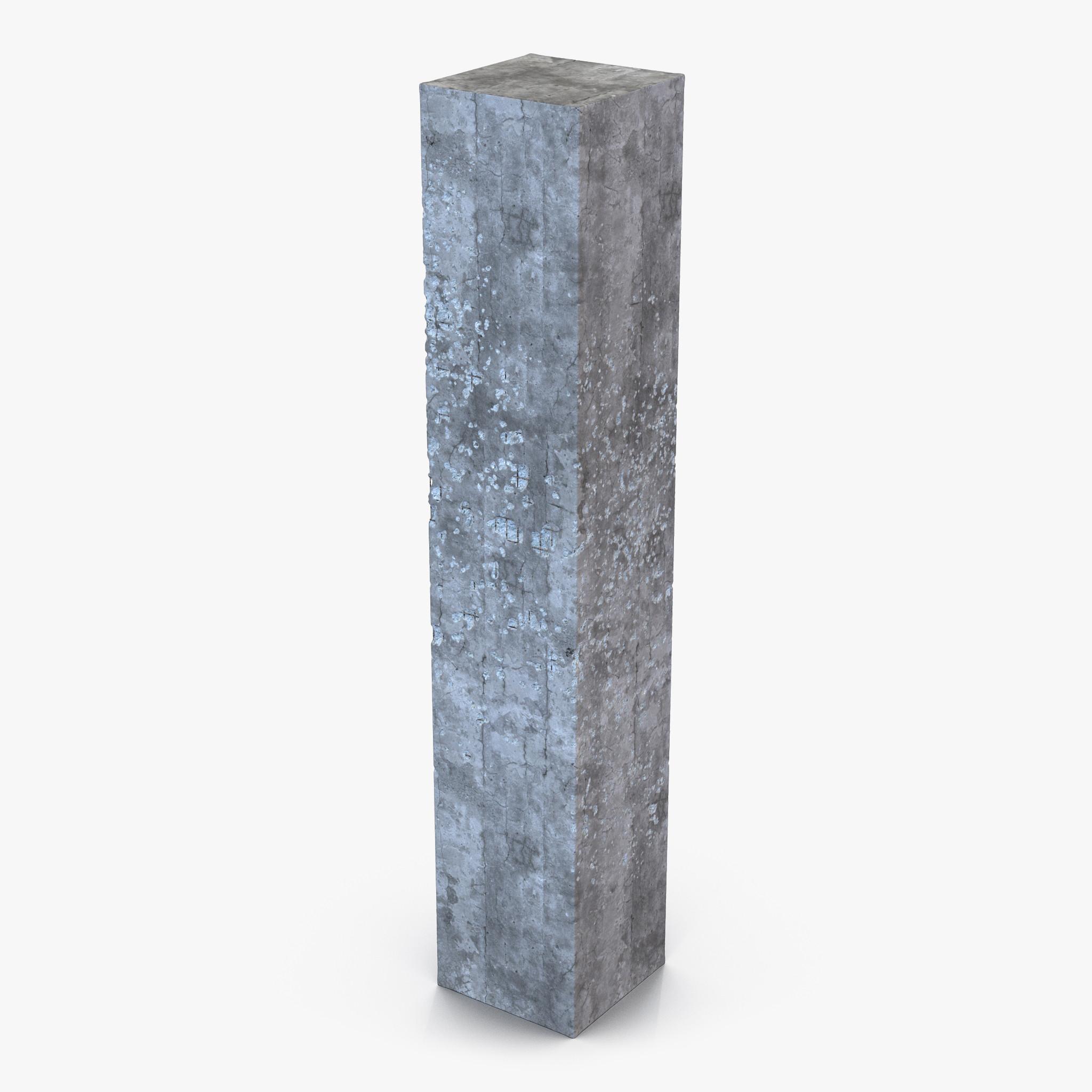 Concrete Pillar 3d model 01.jpg