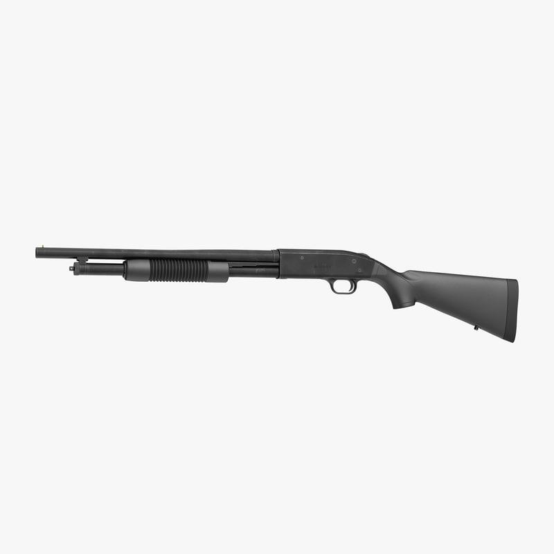 Shotgun Mossberg 500 3ds 3d model 01.jpg