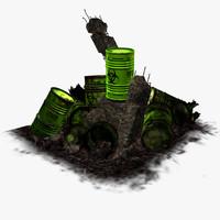 nuclear barrel 3D models