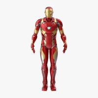 iron man 3D models