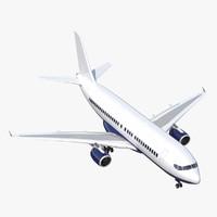 airliner 3D models