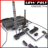 electrical plant 3D models