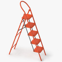 step ladder 3D models