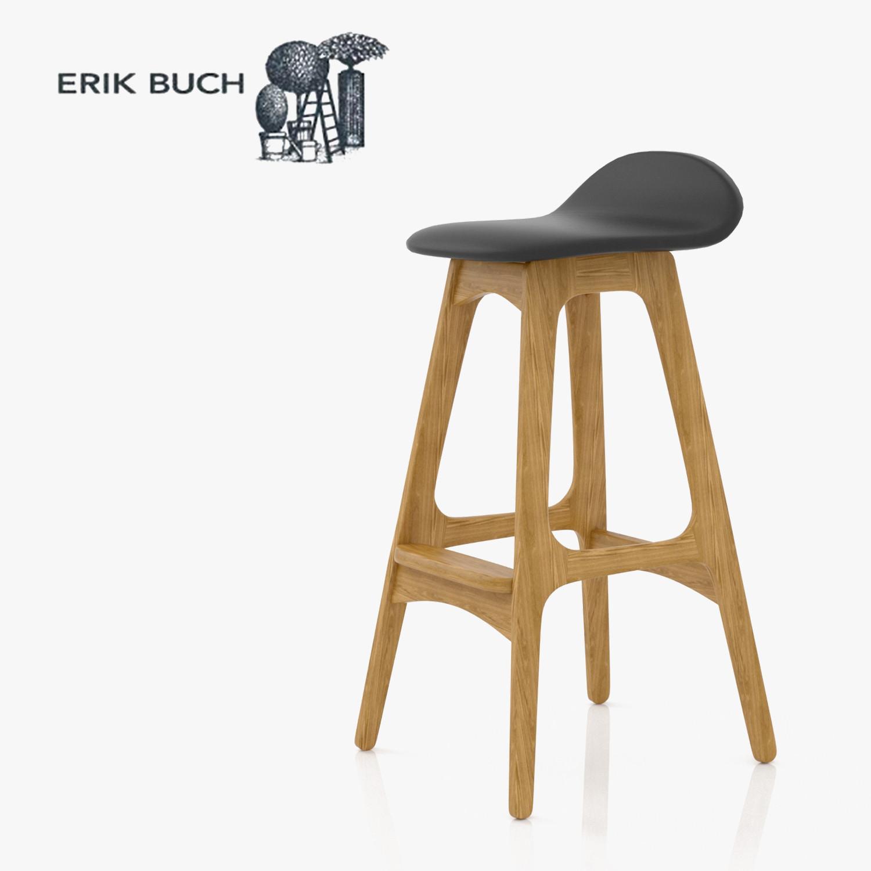 Erik buch bar stool 3d model - Erik buch bar stool ...