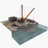 marina 3D models