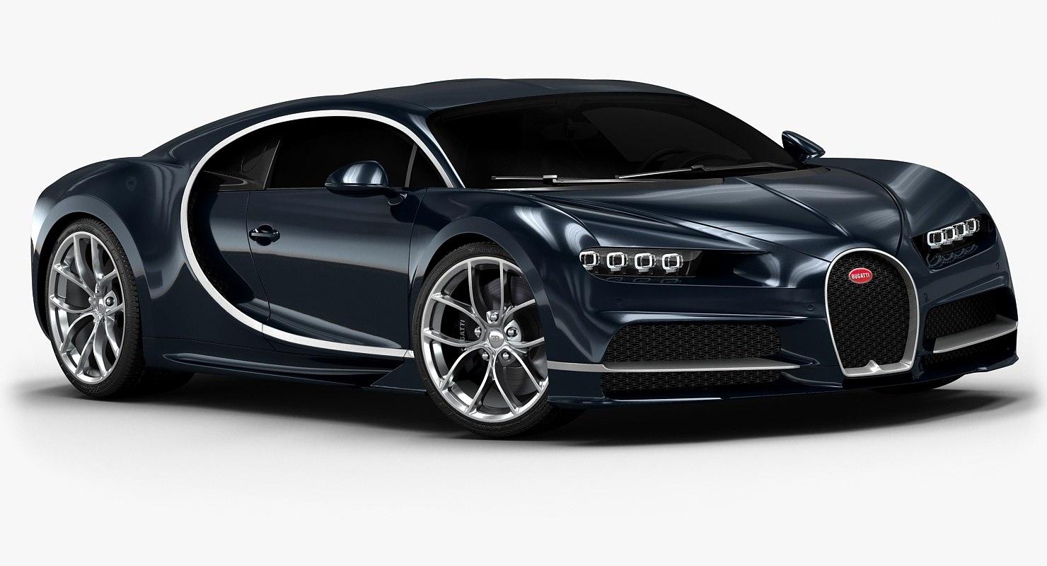 3d 2017 bugatti chiron interior model. Black Bedroom Furniture Sets. Home Design Ideas