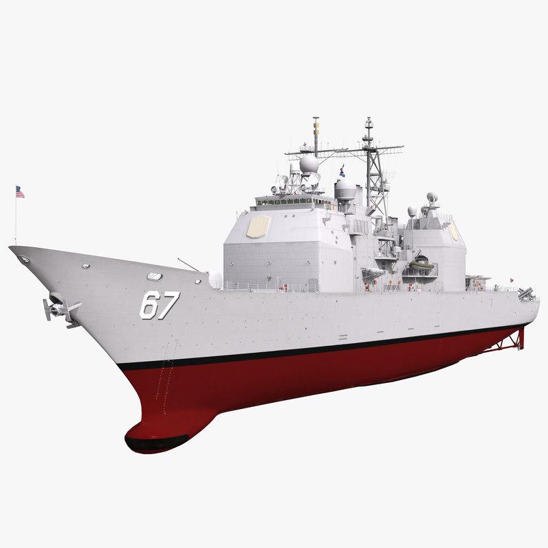 Ticonderoga Class Cruiser Shiloh CG-67 3d model 001.jpg