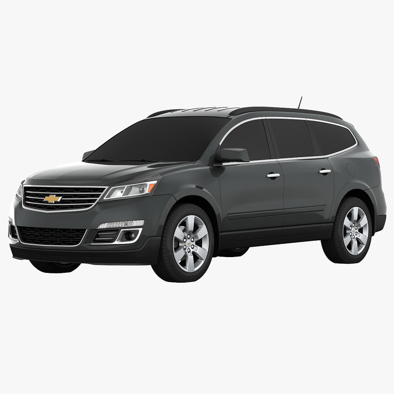 3d chevrolet traverse suv model. Black Bedroom Furniture Sets. Home Design Ideas
