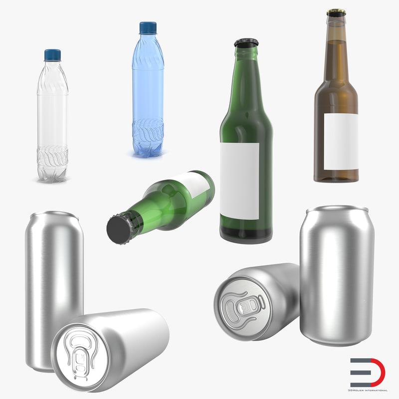 Bottles Collection 3d models 01.jpg