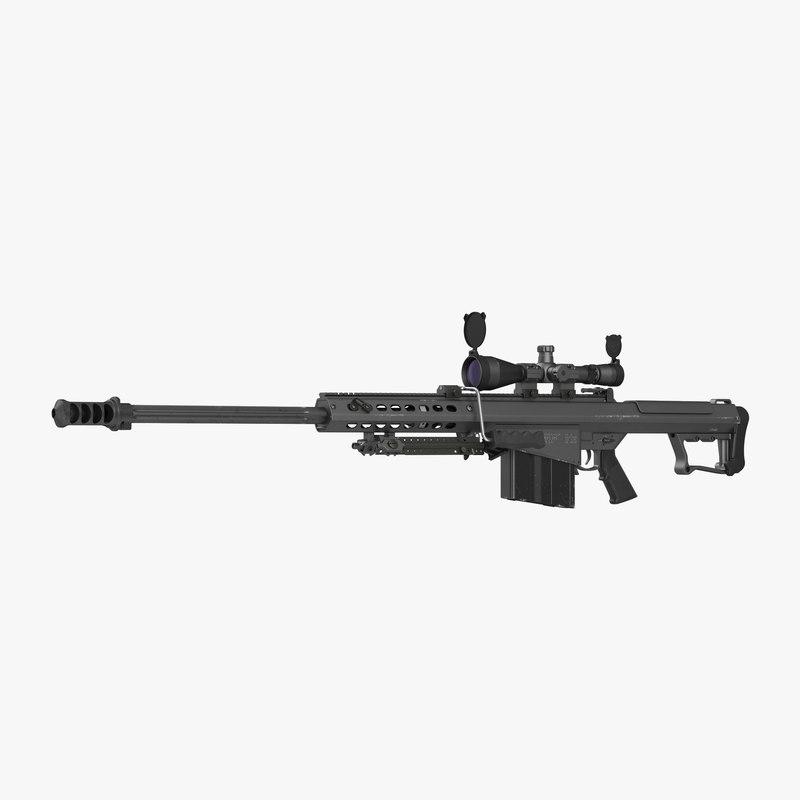 Sniper Rifle Barrett M107 3d model 01.jpg