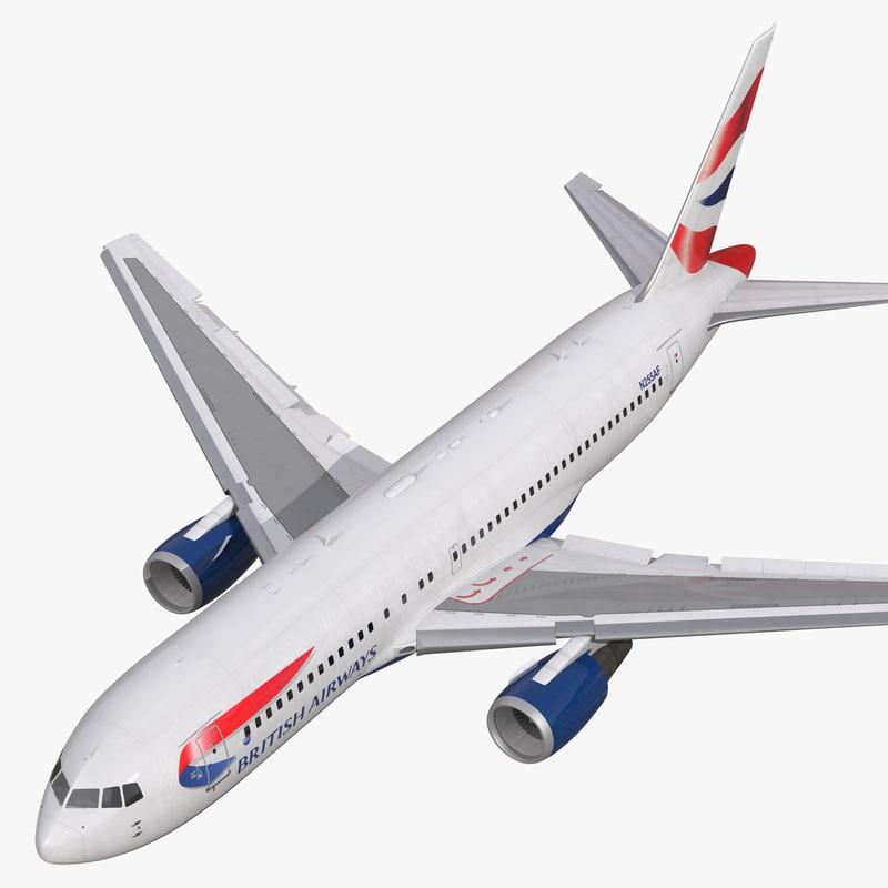 Boeing 767-200 British Airways Rigged 3d model 01.jpg