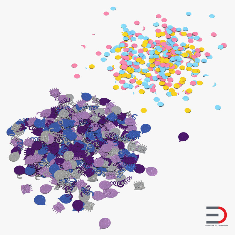 Confetti Collection 3d models 01.jpg