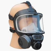 Gas Mask 3D models