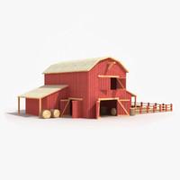 barn 3D models