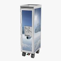 catering cart 3D models