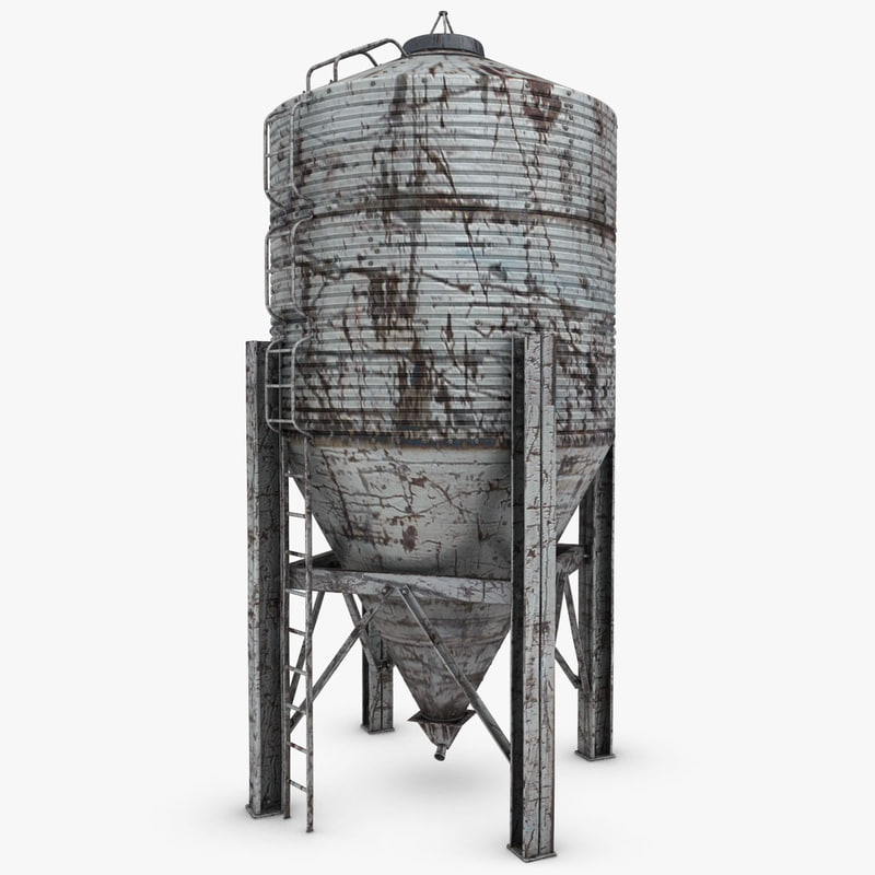 Industrial Light And Magic Render Farm: 3ds Silo Old