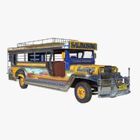 jeepney 3D models