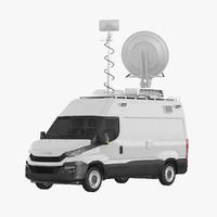 news truck 3D models