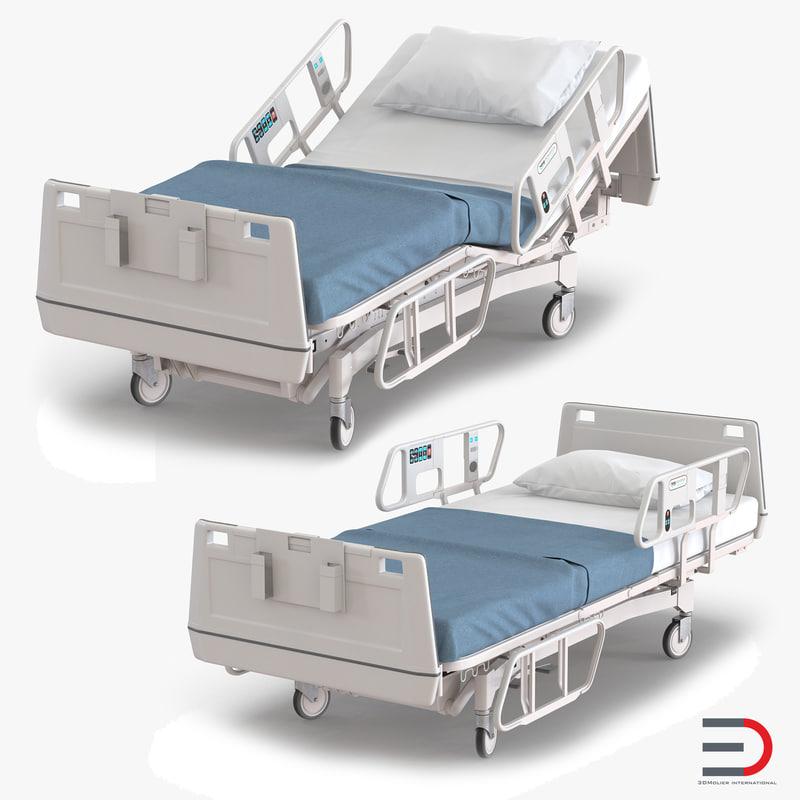 Hospital Bed set 3d models 00.jpg