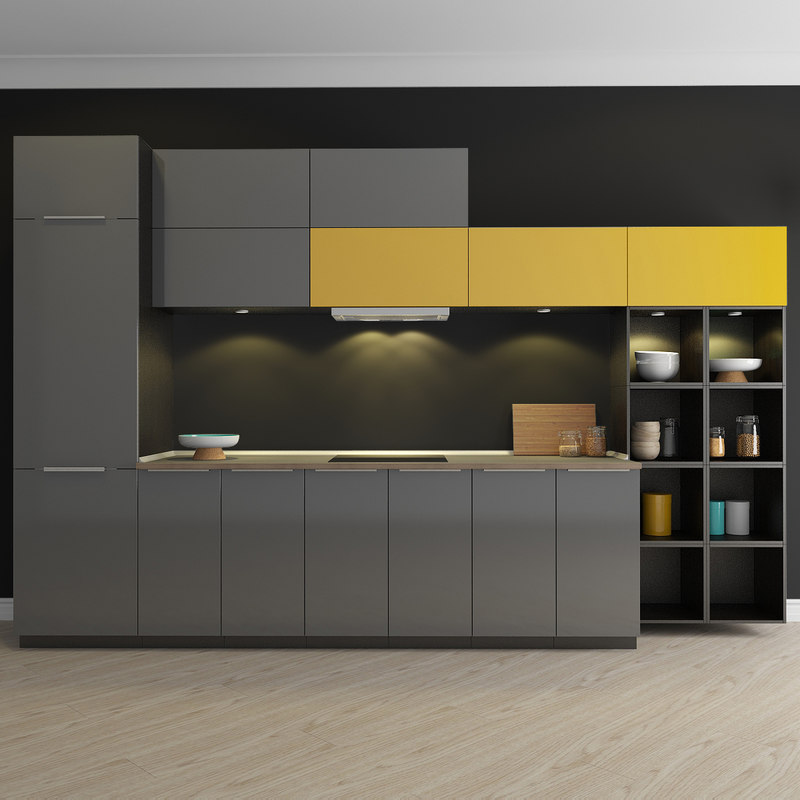 kitchen ringhult 3d 3ds