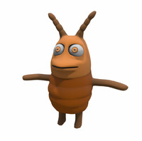 cartoon cockroach 3D models