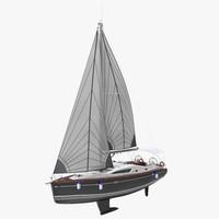 sailing yacht 3D models