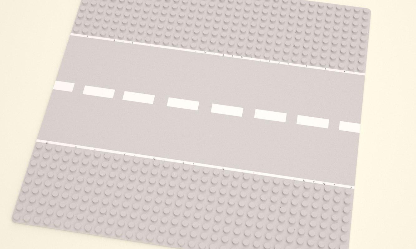 LEGO ROAD BOARD 25.5 X 25.5 X 25.5 CM 2016 IMG012.jpg