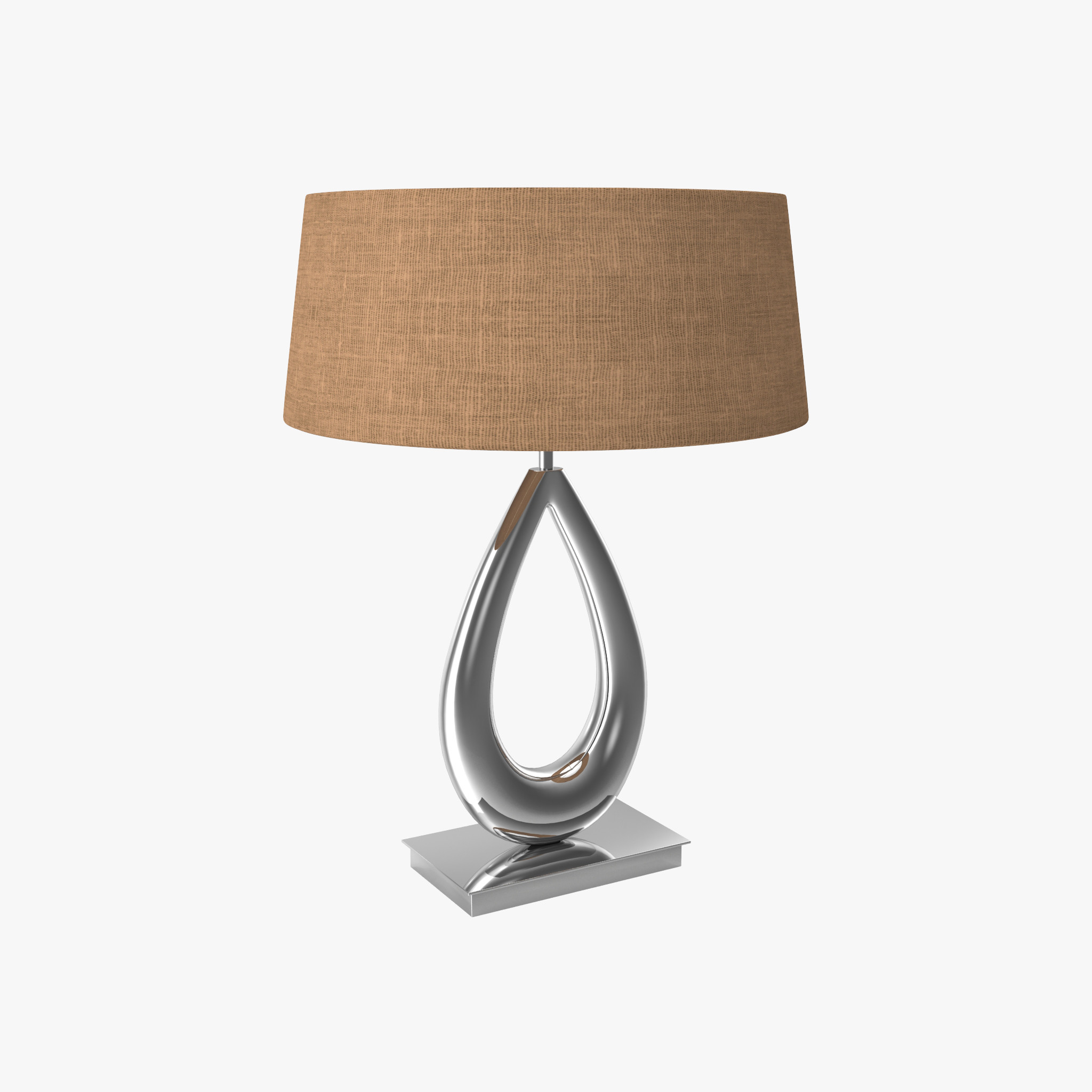 Chelsom Nickel Sculpture Collar Table Lamp prev2a.jpg