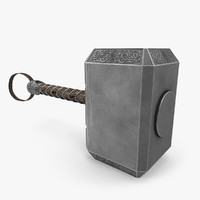 battle hammer 3D models