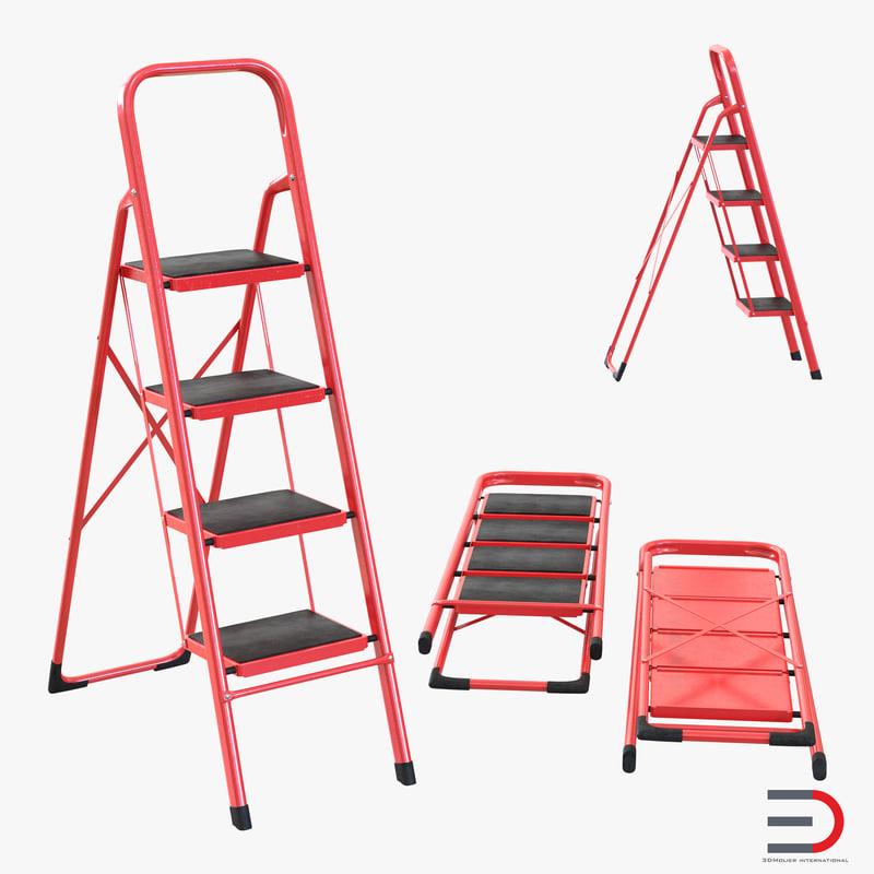 Step Ladder Set 3d models 000.jpg