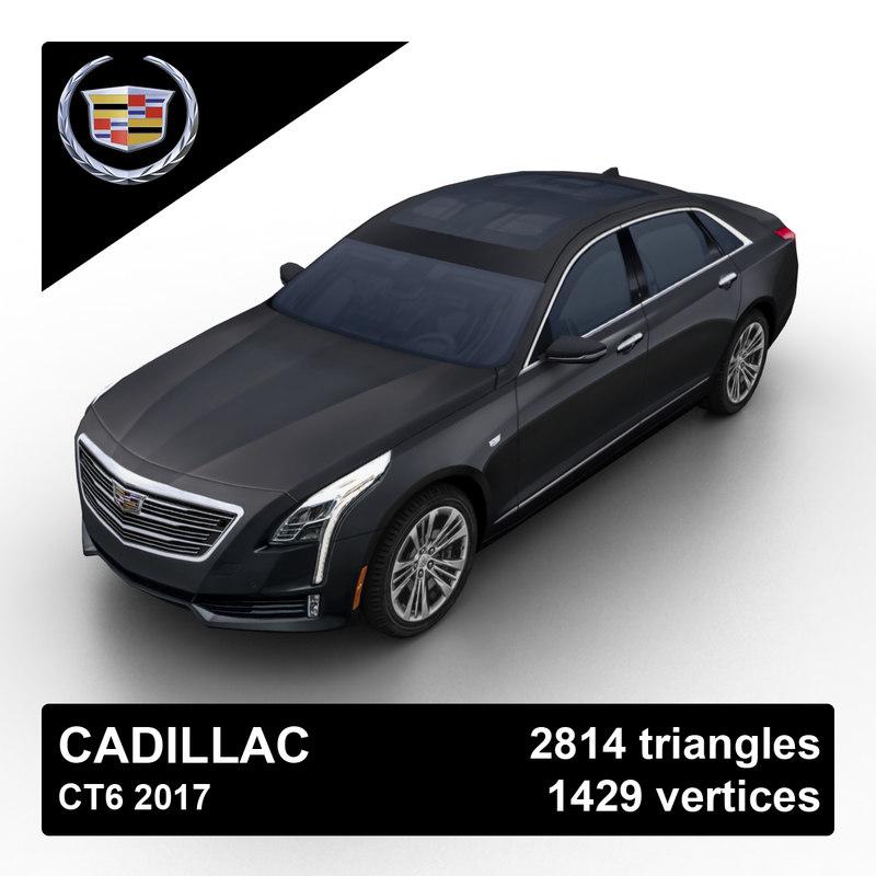 3d model 2017 cadillac ct6 sedan. Black Bedroom Furniture Sets. Home Design Ideas