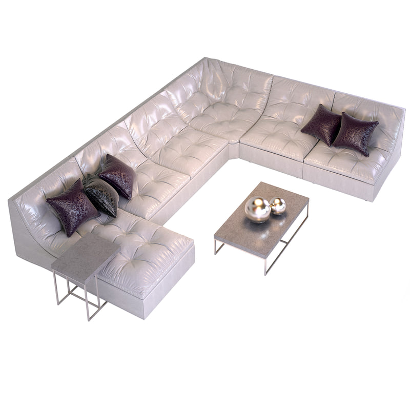 Modular Sofa Bed Estetica 3d Max