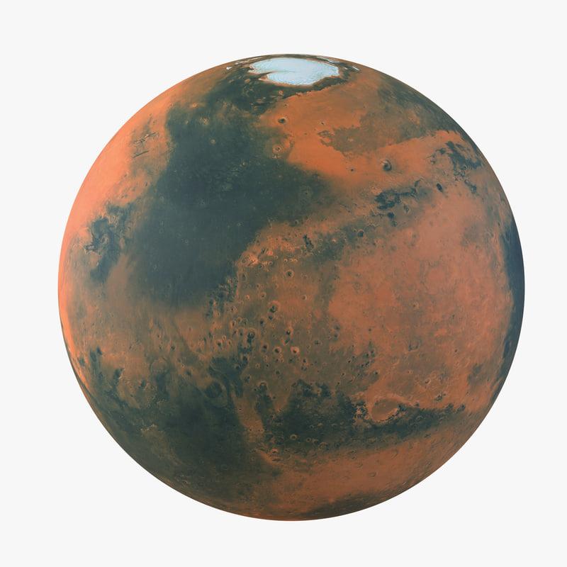 model of planet mars - photo #49