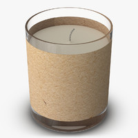 Tea Light 3D models