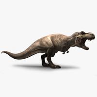 extinct animal 3D models