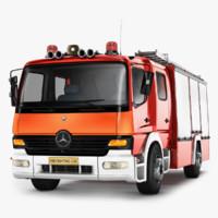 pumper truck 3D models